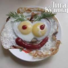 фото рецепта Весёлая глазунья
