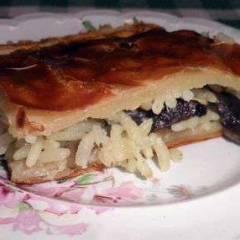 фото рецепта Пирог с грибами