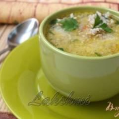 Греческий суп с фрикадельками