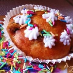 Кексики с йогуртом (babeczki)