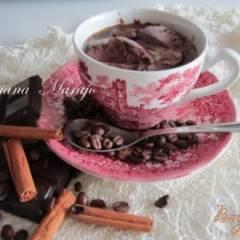 фото рецепта Кофе с шоколадным мороженым...