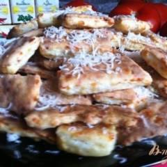 Печенье пряное с сыром