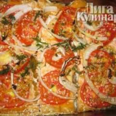 фото рецепта Запечёная форель с помидорами