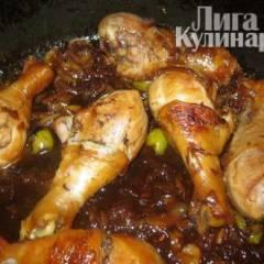 Голень куриная в медовом соусе