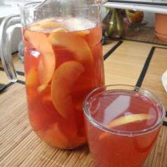 фото рецепта Морс бруснично-яблочный