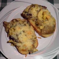 фото рецепта Тосты с грибами