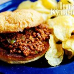 фото рецепта Гамбургер