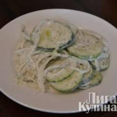 фото рецепта Салат из огурцов