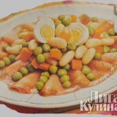 Салат с рыбой по-неаполитански