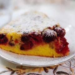 фото рецепта Венский пирог с вишней