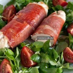 фото рецепта Куриные грудки, фаршированные брынзой