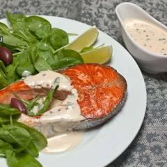фото рецепта Сливочный соус к рыбе