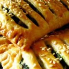 фото рецепта Пирожки со шпинатом и яйцами