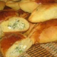 фото рецепта Пирожки с укропом и яйцом