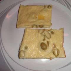 фото рецепта Омлет с сыром и оливками