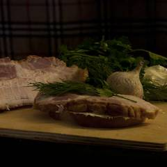 фото рецепта Бутерброды с грудинкой