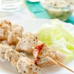 фото рецепта Куриные шашлычки
