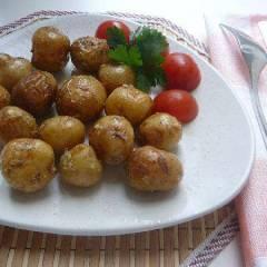 фото рецепта Картофель запеченный в чесночке