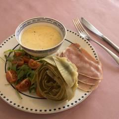 фото рецепта Отварные артишоки с Итальянским сливочным соусом