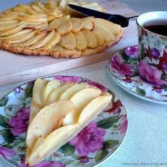 фото рецепта Яблочный пирог маман Бланк