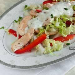 фото рецепта Салат с куриной грудкой