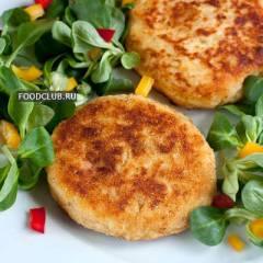 фото рецепта Картофельные биточки с сыром