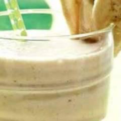 фото рецепта Молочный коктейль с бананом в блендере