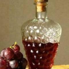 фото рецепта Настойка из винограда изабелла
