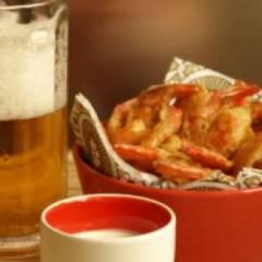 фото рецепта Жареные креветки к пиву