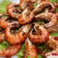 фото рецепта Креветки жареные в соевом соусе