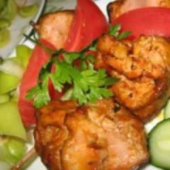 фото рецепта Маринад для шашлыка из курицы