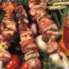 фото рецепта Шашлык из свинины с лимоном
