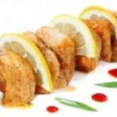 Вкусный шашлык из курицы с лимоном