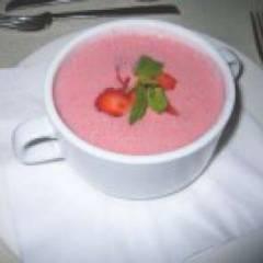 Сладкий суп из вишни