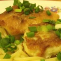 Блюдо филе минтая в кляре