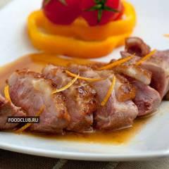 фото рецепта Утиная грудка с апельсиновым соусом