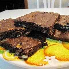 фото рецепта Брауни Double Chocolate