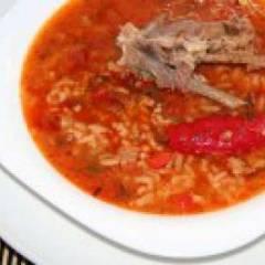 фото рецепта Суп харчо из свинины
