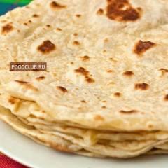фото рецепта Мексиканские пшеничные тортильи