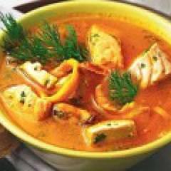Суп рыбный  из горбуши