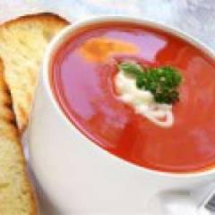 фото рецепта Суп-пюре из помидоров