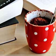 фото рецепта Шоколадный кекс в кружке за 5 минут