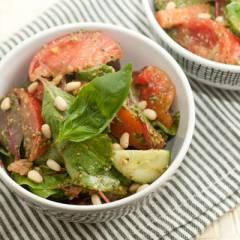 фото рецепта Овощной салат с песто