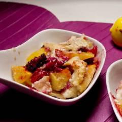 фото рецепта Коблер с манго и ежевикой