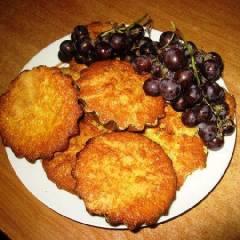 фото рецепта Виноградные кексы с десертным вином