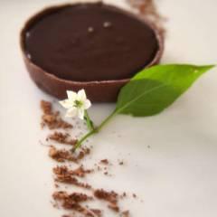фото рецепта Шоколадные тарталетки с шоколадно-кофейным кремом