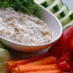 Соус из голубого сыра и шалота