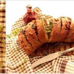 фото рецепта Хлеб с пикантной начинкой