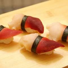 фото рецепта Нигири-суши с хоккигаем