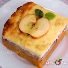 Запеканка из тыквы с яблоками